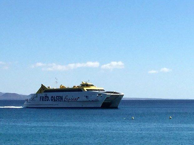Fähre von Corralejo, Fuerteventura nach Playa Blanca, Lanzarote / Copyright © Marion Hagedorn/Interdomizil
