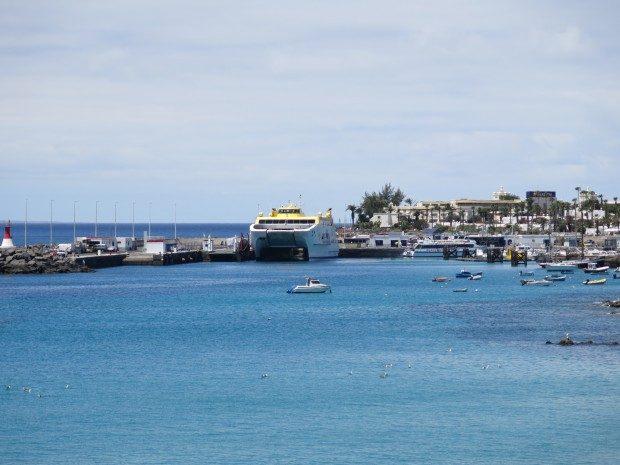 Fährhafen Playa Blanca, Lanzarote / Copyright © Marion Hagedorn/Interdomizil