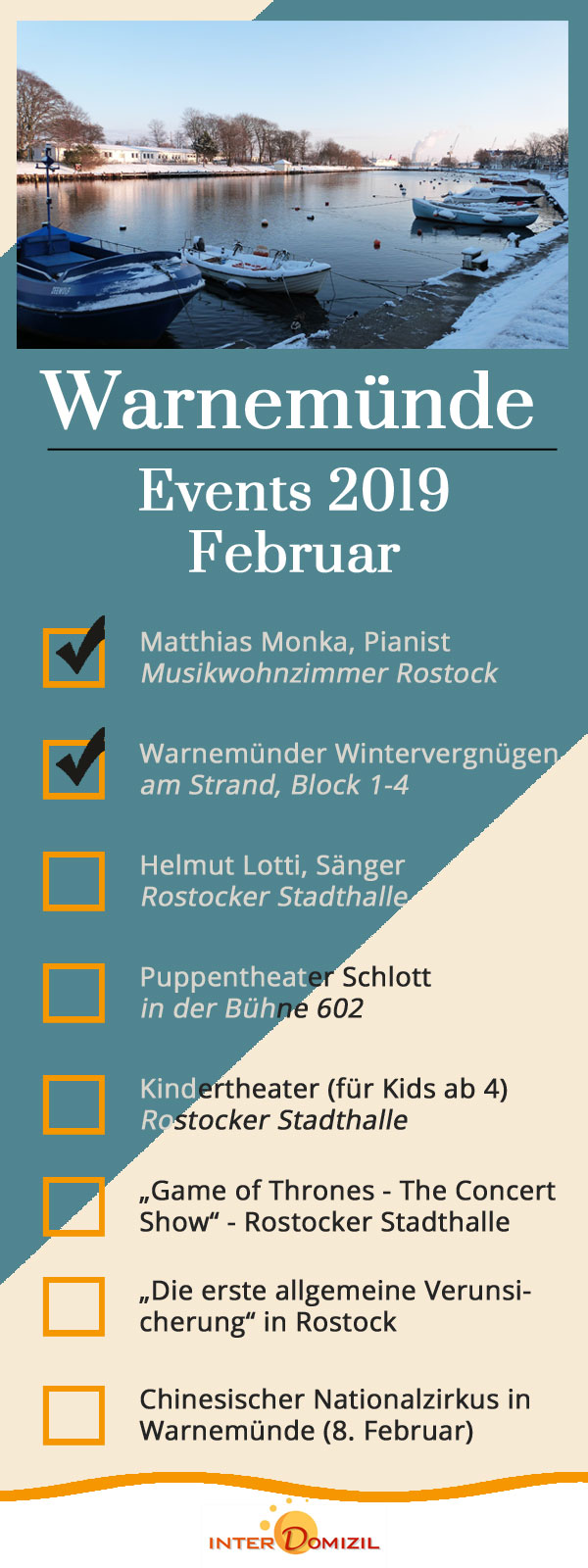 Warnemünde Events 2019 Februar