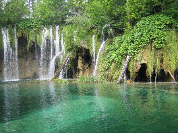 Wasserfälle im Nationalpark Krka - Foto: Pixelio.de / Angelina S (rkn)