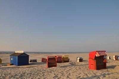 am Strand von Juist - Foto: Martin Moser/pixelio.de (rkn)
