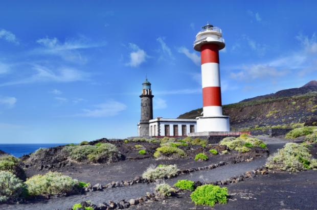 Leuchttürme am südlichsten Punkt von La Palma - Foto: Andreas Hermsdorf/Pixelio.de (rkn)