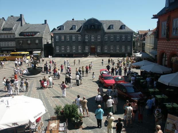 Marktplatz Goslar - © Sven L. pixelio.de (rkn)
