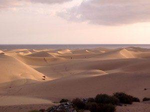 Sanddünen auf Gran Canaria