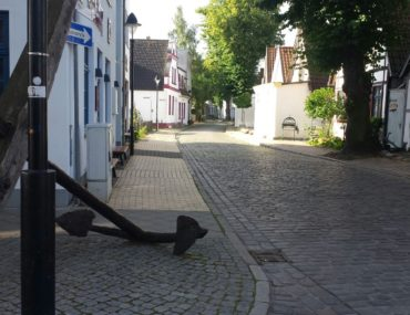 Seitenstraße Warnemünde Ostsee