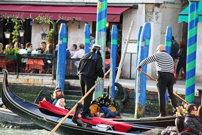 Gondeln in Venedig - © InterDomizil GmbH
