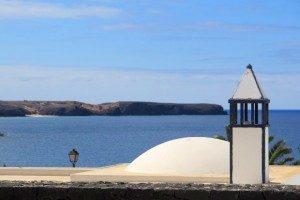 Playa Blanca - blick aus einer Villa