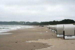 Schlechtes Wetter auf Rügen