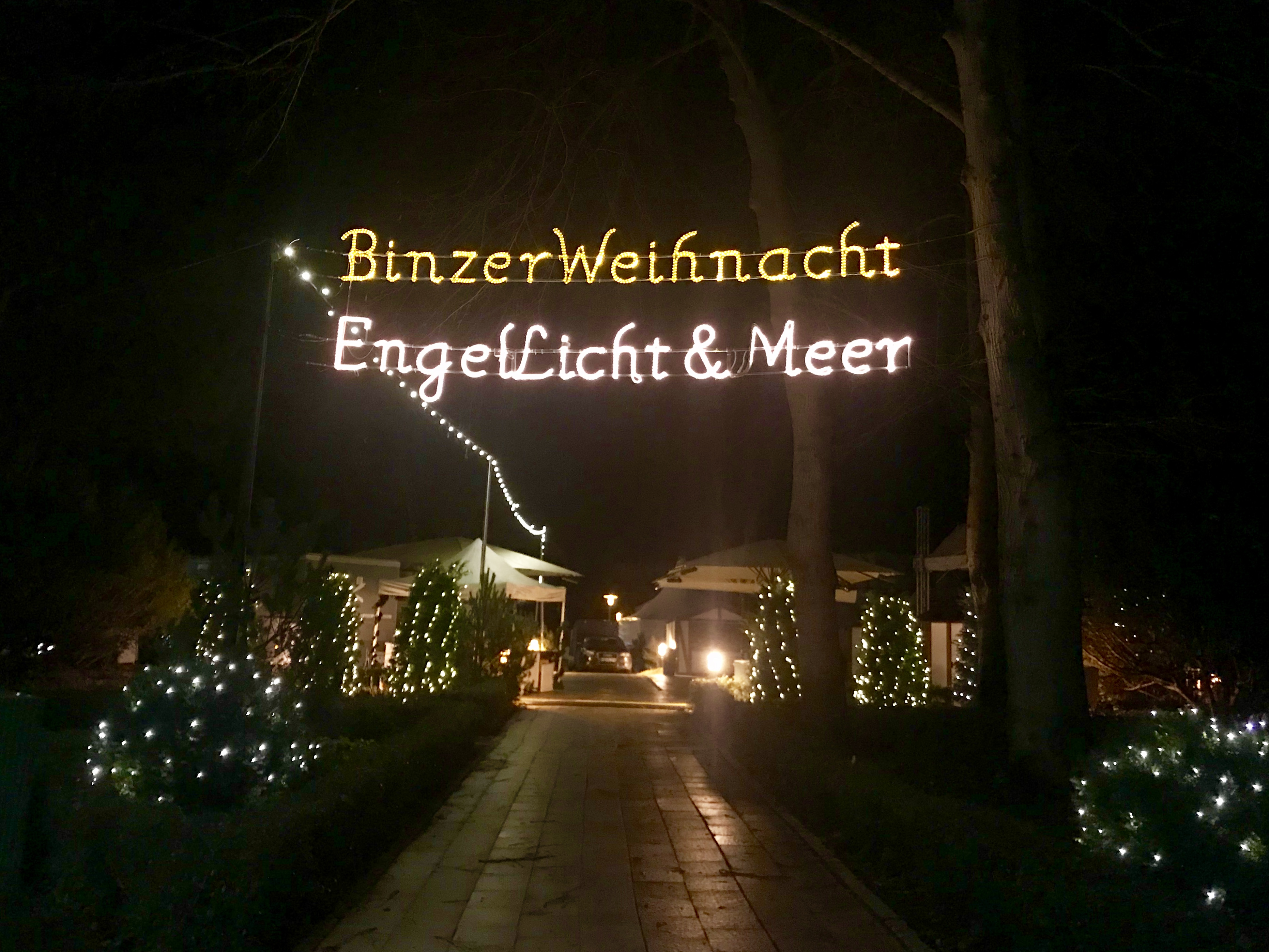 "Adventsmarkt ""Engel, Licht & Meer"" in Binz"