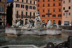 Brunnen in der historischen Altstadt von Rom
