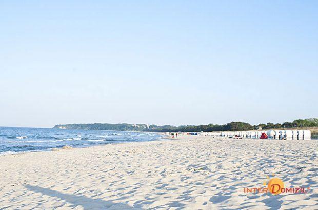 Feiner Sand am Strand von Baabe - Foto: Lichtmaschinist
