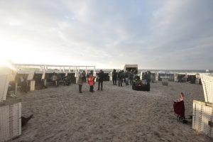 Zum Wintervegnügen werden die Strandkörbe wieder hervorgeholt - Foto: Saskia Henck