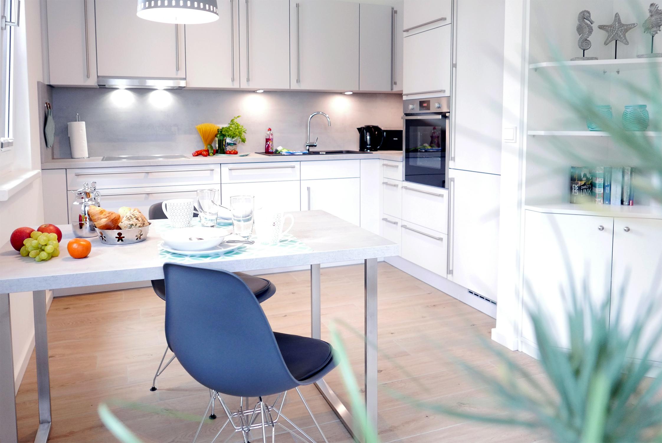 Küche in der FeWo 212611 auf Rügen