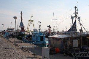 Hafen in Sassnitz auf Rügen
