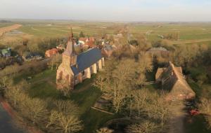 360 Grad Panorama – Tetenbüll aus der Vogelperspektive