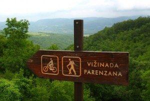 Nach Vižinada auf dem Parenzana