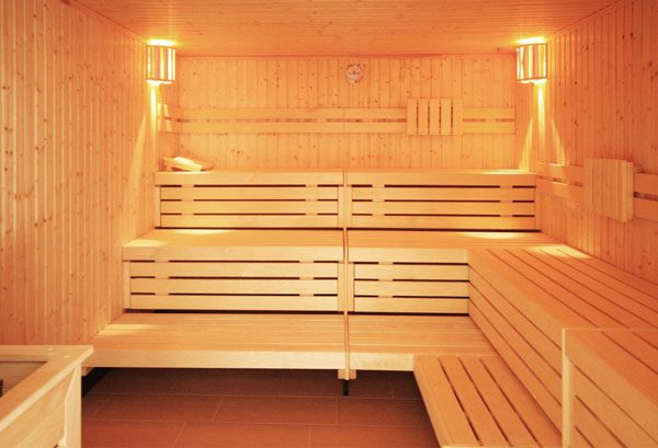 Wellness in der Sauna im Haus Meeresblick in Baabe