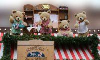 Bären Puppen auf dem Christkindlmarkt