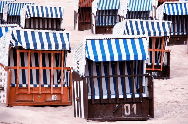 Strandkorb in Warnemünde // Bild: Pixabay (CC0)