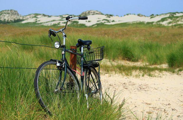 Mit dem Fahrrad an den Juister Strand // Bild: Pixabay (CC0)