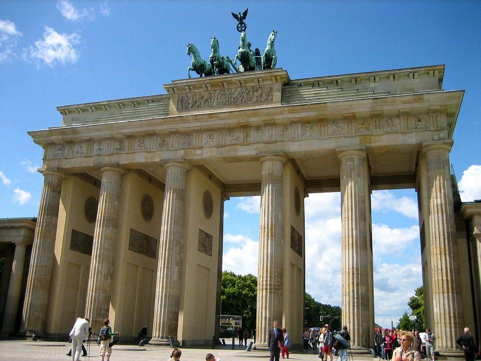 Deutschland Berlin Brandenburger Tor Geschichte Zum Anfassen