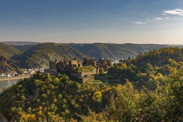 Burg Rheinfels am Rhein - Foto: katjasv/Pixabay
