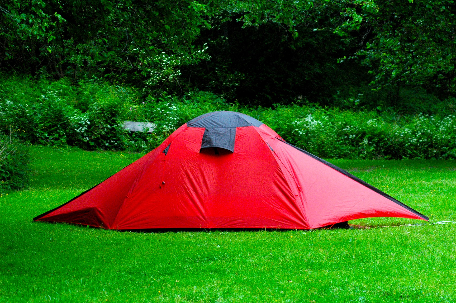Camping zu Hause