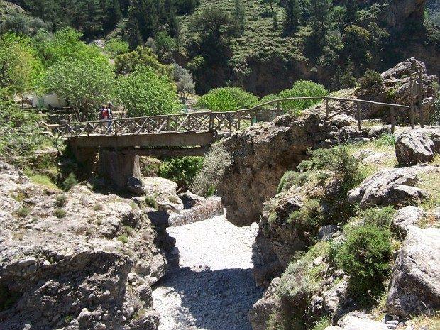 Wanderroute Samaria Schlucht auf Kreta - Foto: Pixabay, CC0