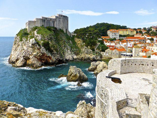 Dubrovnik oder aber auch Kings Landing - Foto: Pixabay, CC0