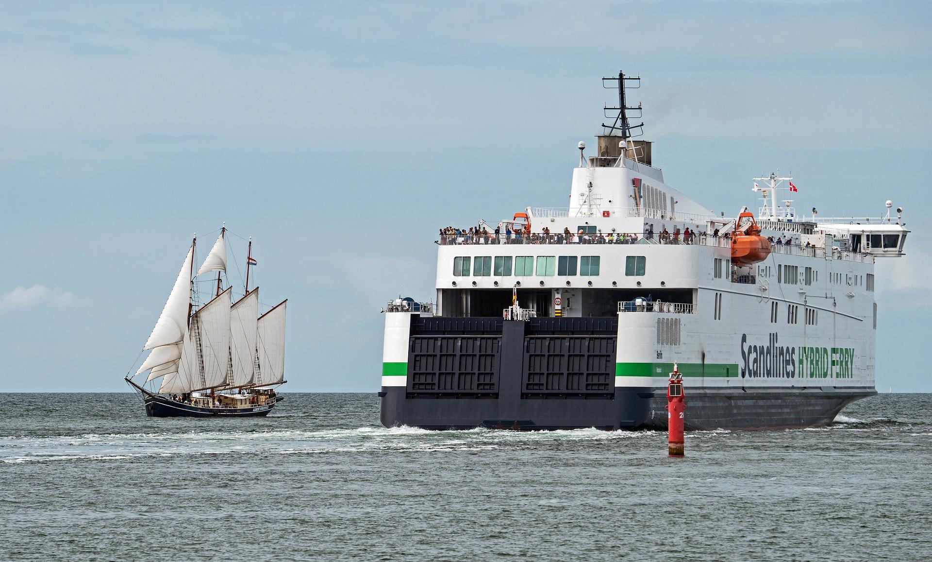 Fähre nach Gedser, Dänemark