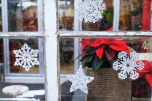 Fenster Dekoration Weihnachten