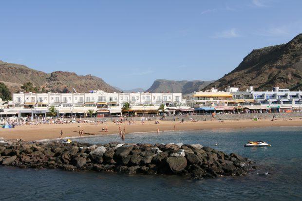 Gran Canaria, Strand von Puerto de Mogan, Copyright © Marion Hagedorn/InterDomizil