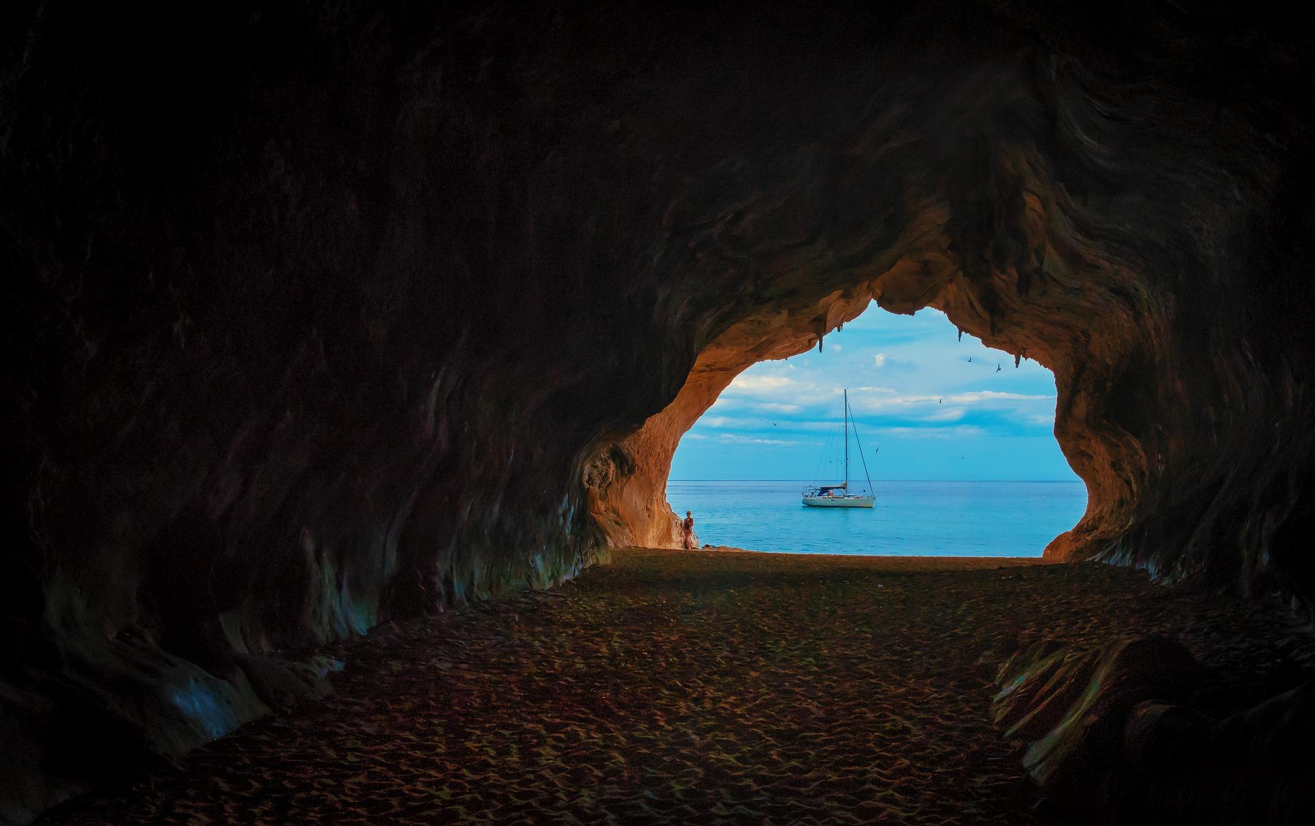 Grotte auf Sardinien