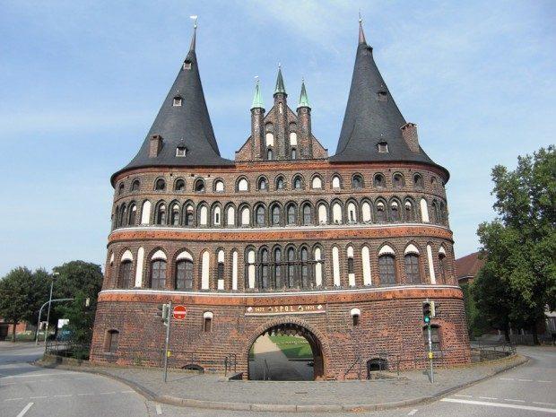 Lübeck, Holsten Tor - Foto: Pixabay, CCO