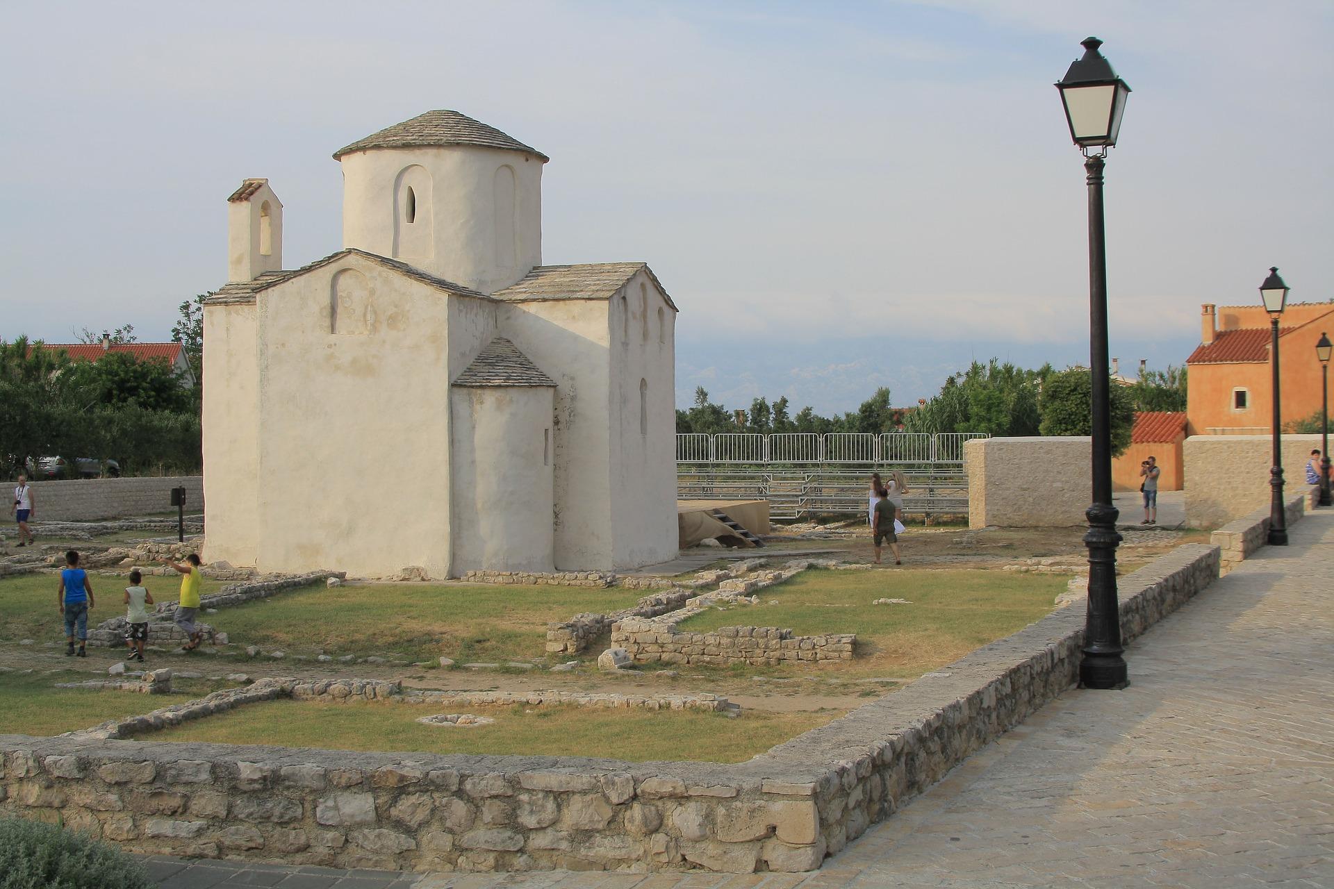 christliche Kirche in Nin