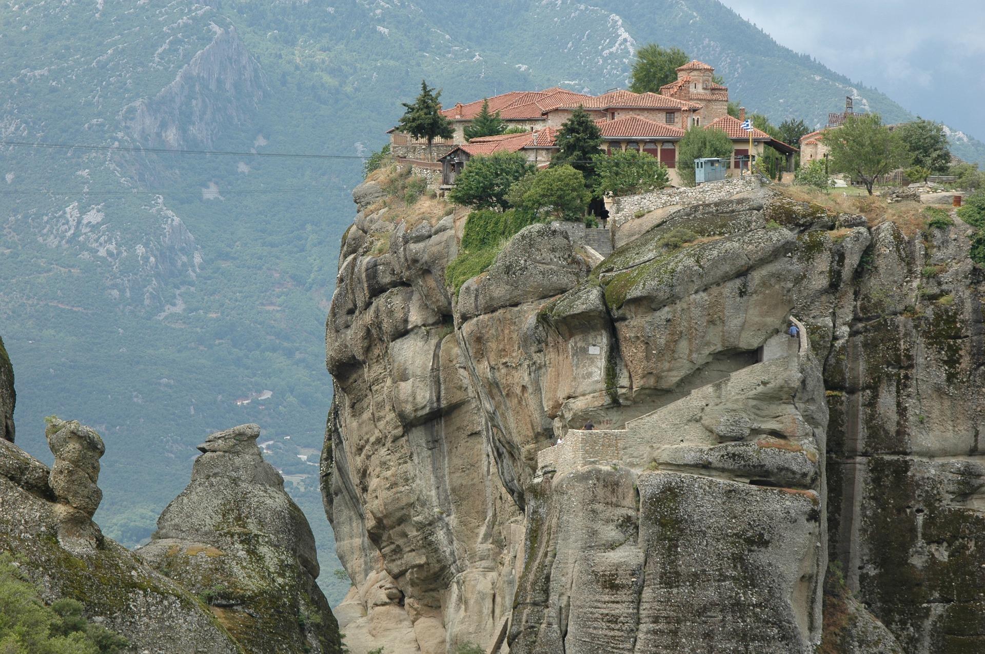 Kloster auf Chalkidiki