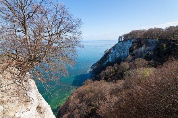 Der Königsstuhl - ein Part der berühmten Kreidefelsen auf Rügen - Foto: Pixabay, CC0