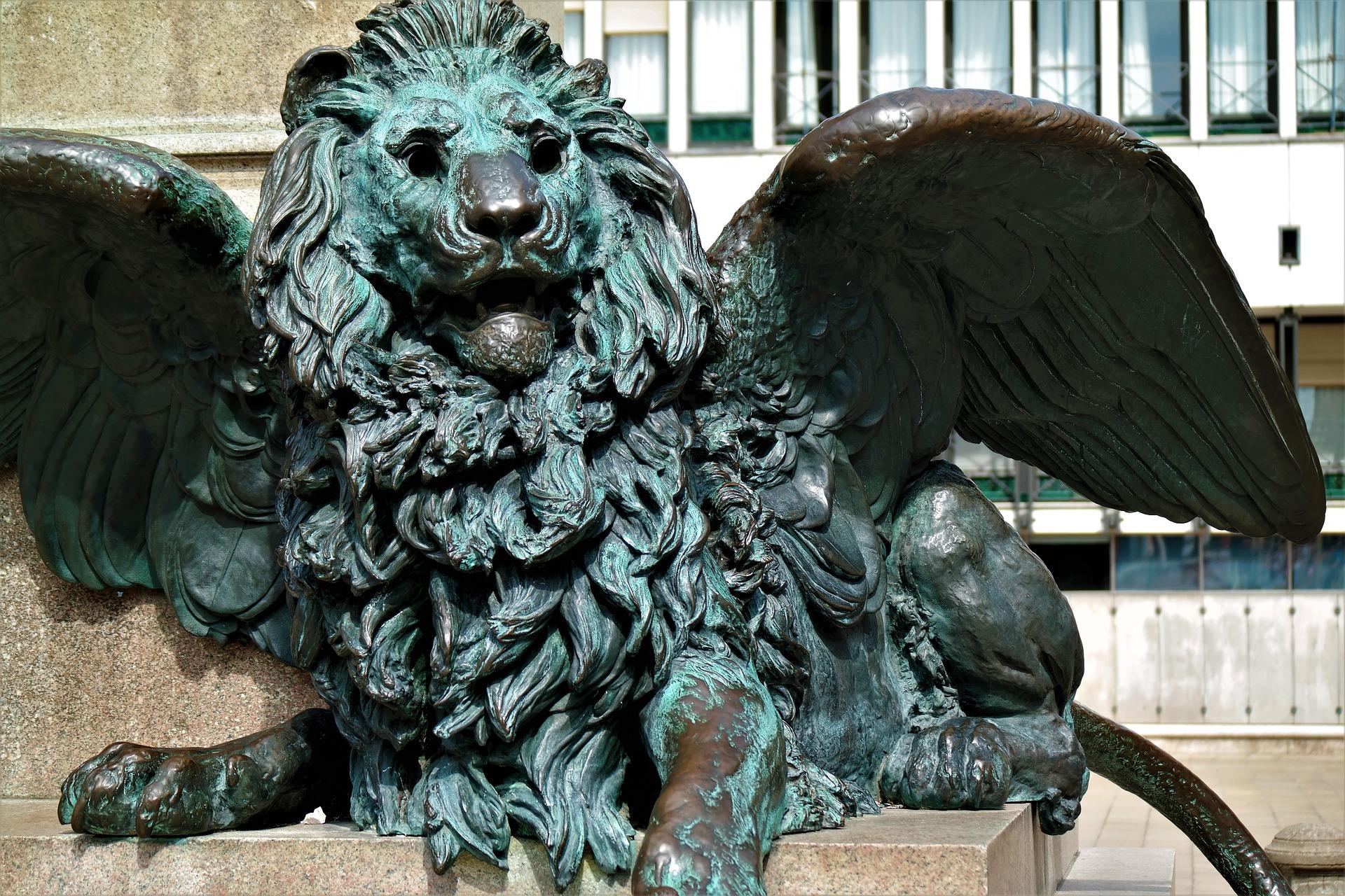 Wappen Löwe Venedig