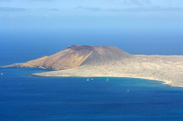 Schwesterinsel von Lanzarote: La Graciosa - Foto: Marion Hagedorn