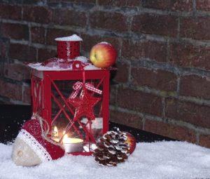 Laterne Weihnachtsdeko