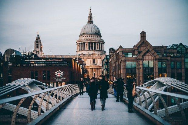 Die beliebte englische Metropole London - Foto: Anthony Delanoix (CC0)