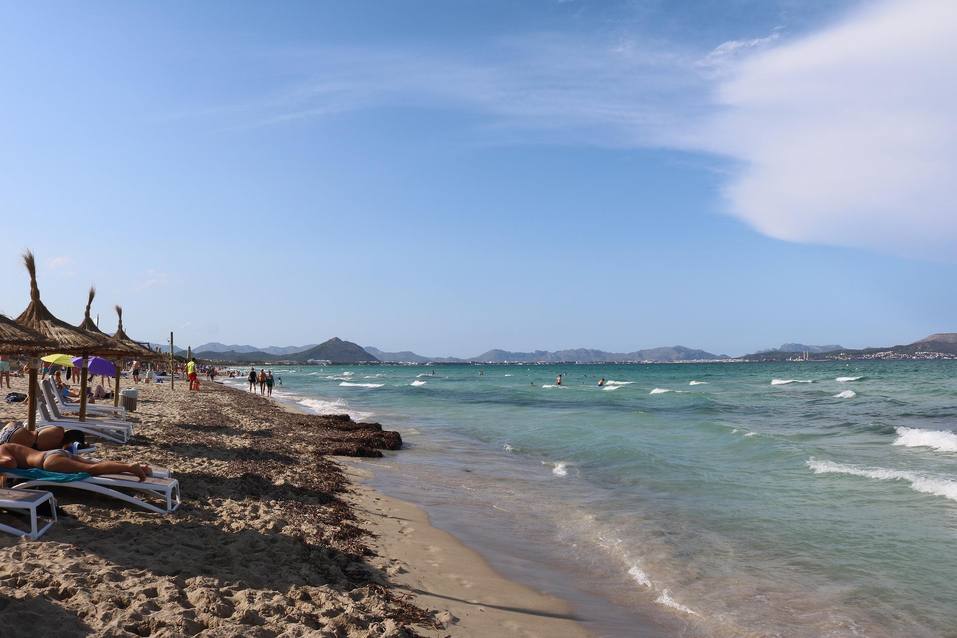 Mallorca Alcudia Strand