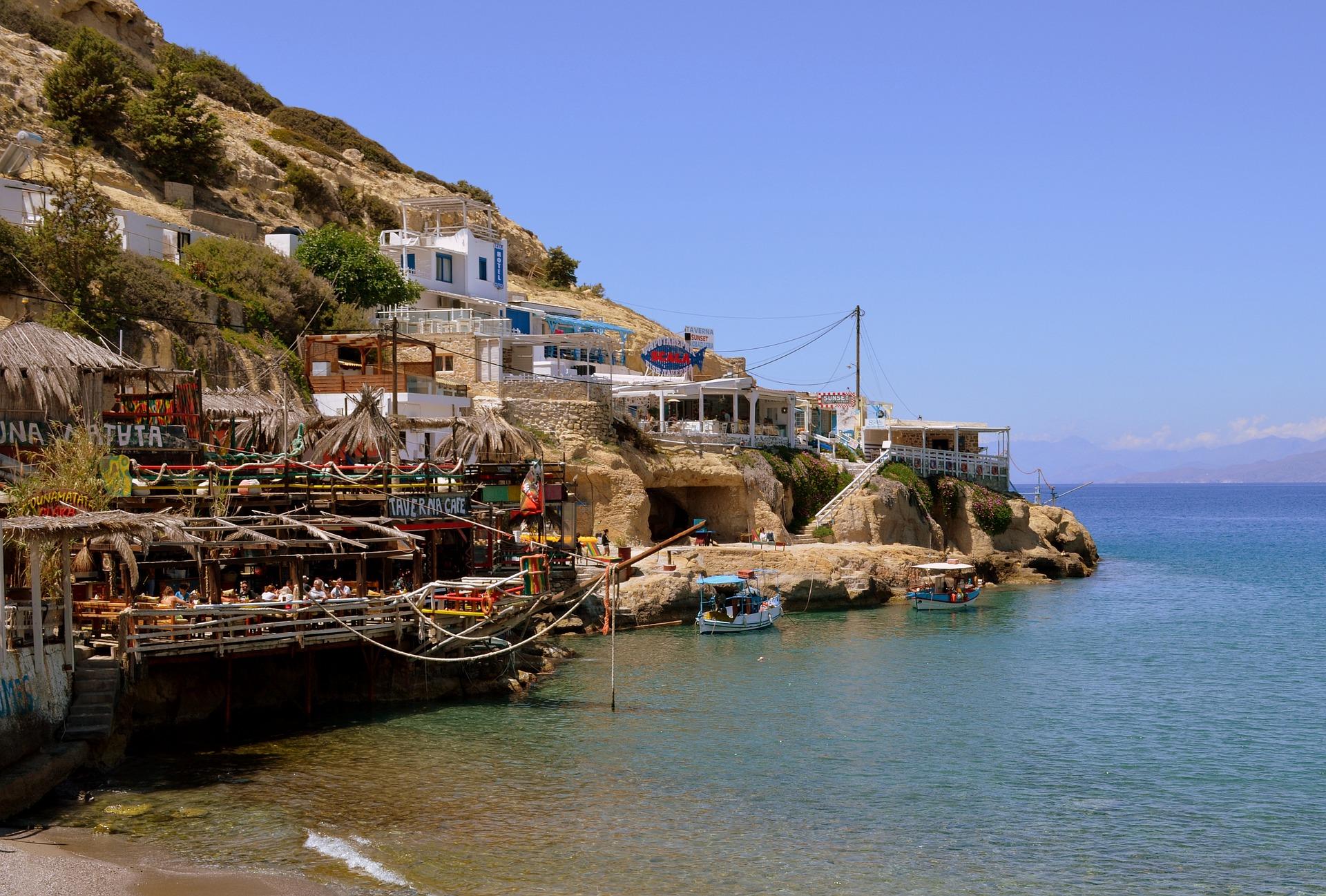 Matala auf Kreta