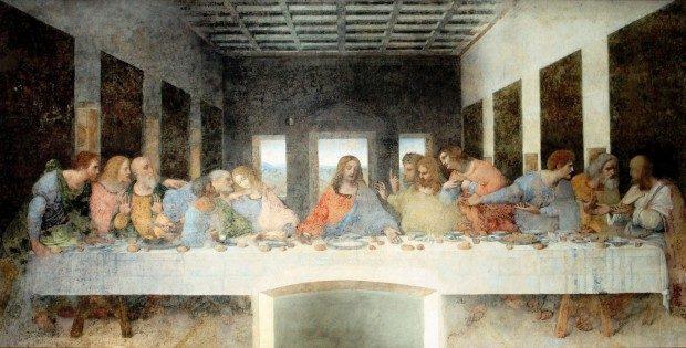 Das Letzte Abendmahl // Leonardo Da Vinci - Foto: Pixabay, CC0