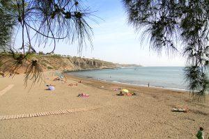 Pasito Blanco, hier kann man in Ruhe die Sonne und das Meer genießen - Foto: Marion Hagedorn