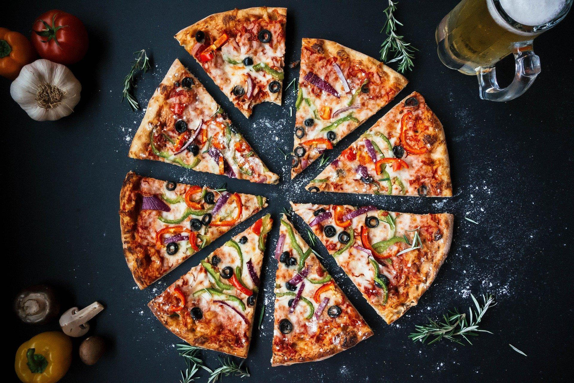 Pizza, Italien