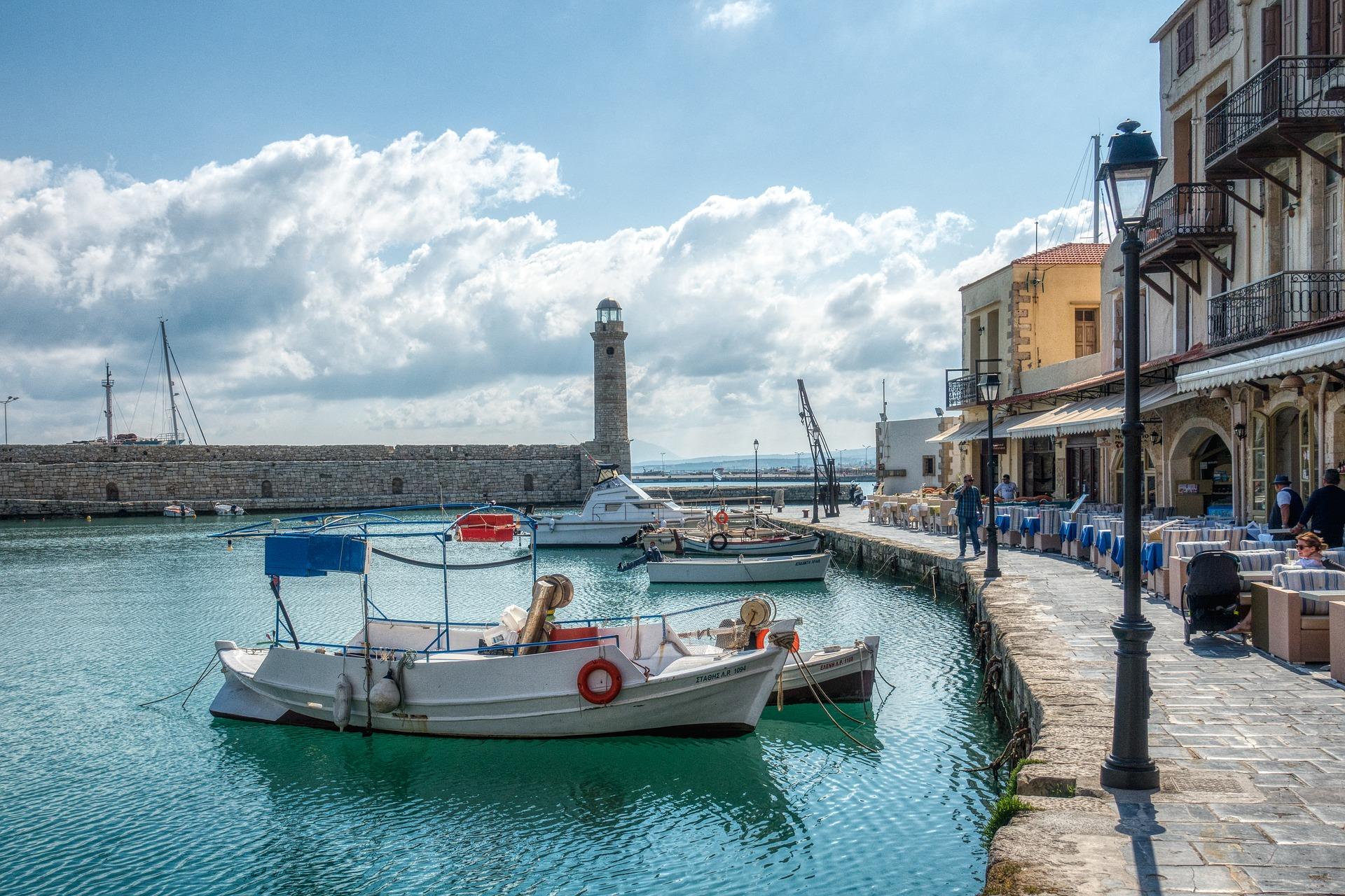 Hafen von Rethymnon