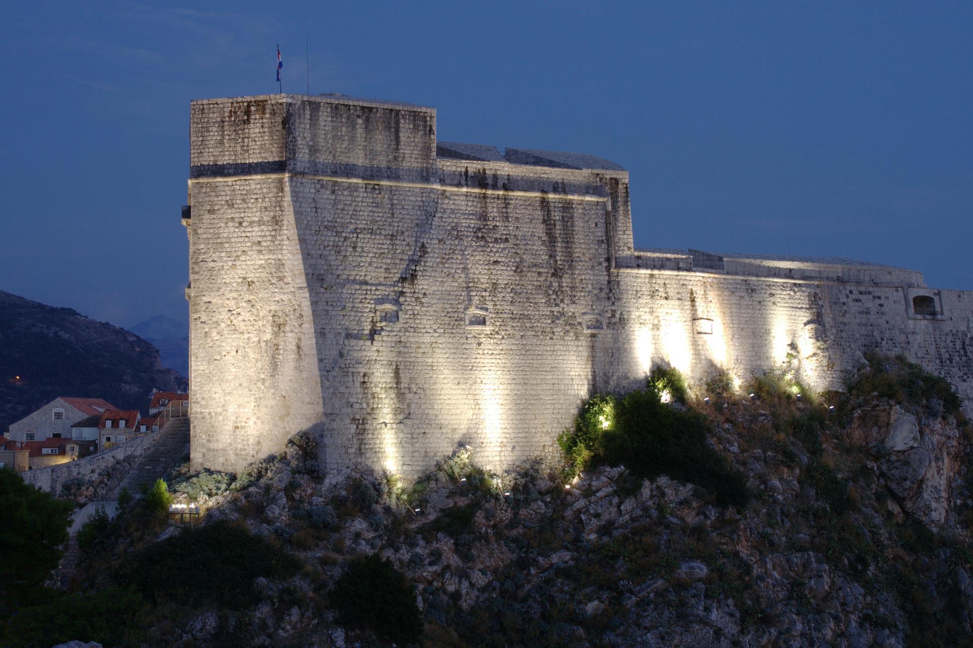 Festung Lovrijenac aka Rote Burgfried