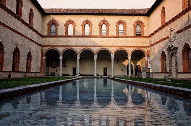Schloss Sforzesco - Foto: Pixabay, CC0