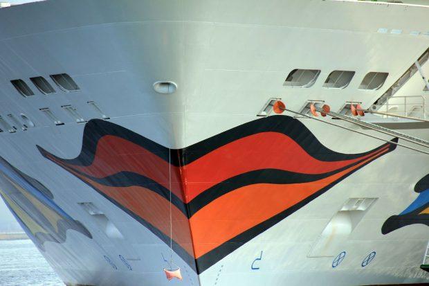 Der typische Kussmund der AIDA-Schiffe // Bild: Pixabay (CC0)